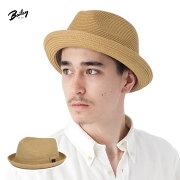 ベイリー 麦わら帽子 ストローハット
