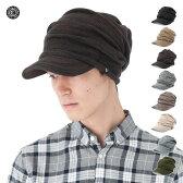 帽子 キャバレロ 小顔効果 ゆったりとしたかぶり心地 くしゅくしゅニットキャスケット 全9色 CABALLERO [メンズ ニット帽 小顔効果] #KT #CQ [RV]【UNI】【MB】