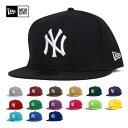 ポイント10倍 NEW ERA(ニューエラ) キャップ 59FIFTY MLB ニューヨークヤンキース | 帽子 メンズ レディース | 全16色 [JS][RV]【UNI】