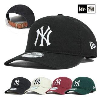 新埃拉紐約揚基隊低卡普斯陷井背蓋子庫巴市鎮帽子全5色New Era 9TWENTY CAP COOPERSTOWN NEW YORK YANKEES[新埃拉蓋子人紐約揚基隊New Era]