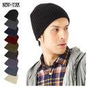 ニューヨークハット(NEW YORK HAT)帽子 アウトドアにぴったり シンプル&スタンダードな キャップ 全9色 KNIT CHUNKY BEANIE [メンズ 男女兼用 ニット帽 スカル キャップ 防寒対策] #KT [RV]【UNI】【MB】