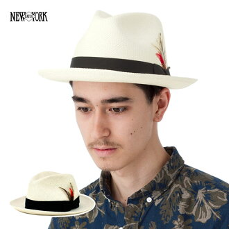 紐約帽子草帽巴拿馬帽秸稈自然帽子紐約帽子巴拿馬 FEDORA 自然 [大小男裝大草帽稻草秸稈帽子草帽草帽草編帽子],[KH] #HA: S
