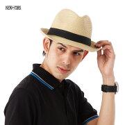 ニューヨークハット ストローハット 帽子