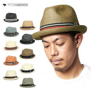 [ 送料無料 ] ピーターグリム デップ 帽子 中折れ ストロー ハット DEPP PETER GRIMM HAT DEPP 全11色 [ 麦わら帽子 ストローハット 大きいサイズ メンズ レディース ゴルフ ]【R】【UNI】 #HA:S