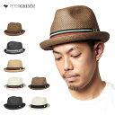 ポイント10倍 麦わら帽子 メンズ ピーターグリム ストローハット 中折れ ハット デップ 全7色 PETER GRIMM STRAW HAT DEPP | 帽子 メンズ レディース #HA:S [RV]【UNI】 [RSS]【返品交換対象外】