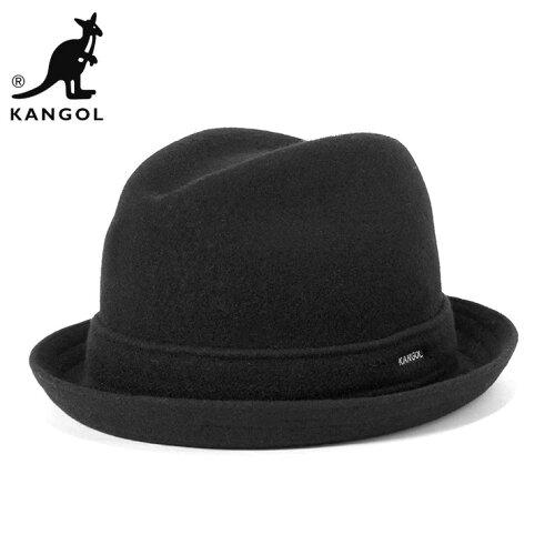カンゴール ハット ウール プレーヤー ブラック | KANGOL HAT WOOL PLAYER BLACK | 帽子 メンズ レ...