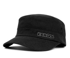 ★カンゴール コットンツィルアーミーキャップ ブラック KANGOL COTTON TWILL ARMY CAP BLACK [...
