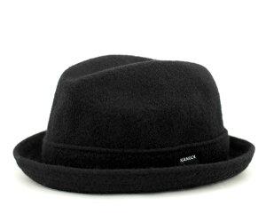 レビューで 送料無料 ★ [ ハット 帽子 ]カンゴール ハット ウールプレーヤー ブラック KANGOL ...