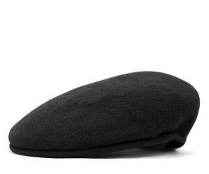 レビューで 送料無料 ★ [ ハンチング 帽子 ]カンゴール ハンチング ウール 504 ブラック [ ウ...