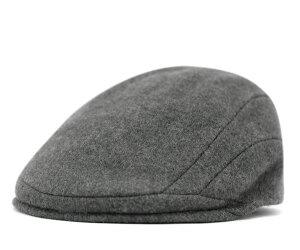レビューで 送料無料 ★ [ ハンチング 帽子 ]カンゴール ハンチング ウール 507 ダークフランネ...