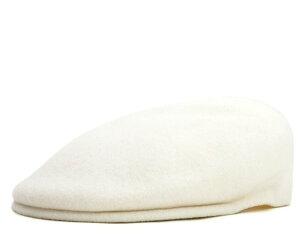 レビューで【送料無料】カンゴール ハンチング ウール 504 ホワイト(帽子) KANGOL WOOL 504 WH...