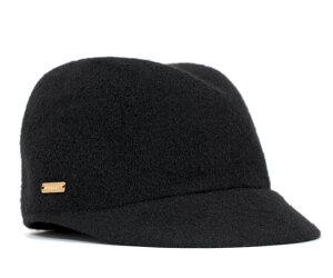 上品なシルエットのキャップ帽♪カンゴールウール中折れキャップ★カンゴール ウール コレット ...
