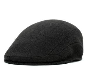 レビューで 送料無料 ★ [ ハンチング 帽子 ]カンゴール ハンチング ウール 507 ブラック [ ウ...