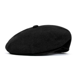 送料無料!(1/10まで)★【送料無料】カンゴール ウール ハンチング ブラック (帽子) KANGOL W...