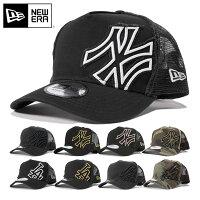 ニューエラ キャップ メッシュキャップ ヤンキース ドジャース Dフレーム ダメージ加工 NEWERA 帽子 メンズ メッシュ NEW ERA ニューエラメッシュキャップ ニューエラキャップ  迷彩 ベースボールキャップ ブランド