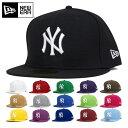 ニューエラ キャップ 59FIFTY MLB ニューヨークヤンキース | NEW ERA NEWERA 帽子 メンズ レディース | 全16色 [RV][JS]【UNI】PO10