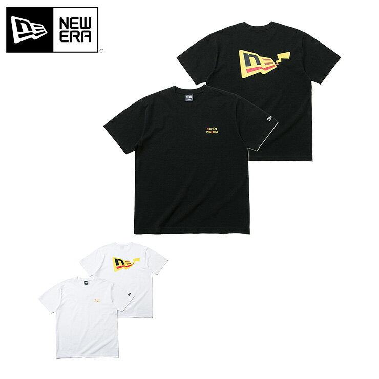 トップス, Tシャツ・カットソー  T FLAG LOGO PIKACHU NEW ERA POKEMON new era newera T T MB