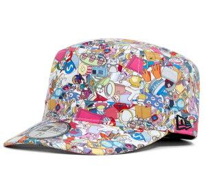 ★ニューエラ×ドラえもん コラボキャップ ワークキャップ ミリタリーキャップ マルチカラー 帽...