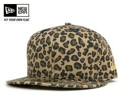 ニューエラ×ディズニー キャップ ミッキーマウス ブラウン レオパード 帽子 NEWERA×DISNEY 59FIFTY MICKEY MOUSE BROWN LEOPARD [ キャップ new era cap ニューエラキャップ 大きい サイズ メンズ レディース ][BN] #CP:B