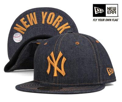 ★ニューエラ キャップ ニューヨーク ヤンキース インディゴデニム 帽子 NEWERA 59FIFTY CAP NE...