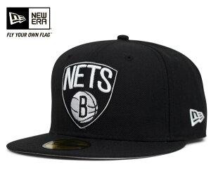 ★ニューエラ キャップ ブルックリン ネッツ プライマリー ブラック 帽子 NEWERA 59FIFTY CAP N...