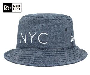 ニューエラ バケット ハット デニム 帽子 NEWERA BUCKET-01 HAT NYC DENIM [NV] #HA:O