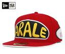 NEW ERA(ニューエラ) ドクタースランプ アラレちゃん コラボ 59FIFTY キャップ レッド 帽子 メンズ レディース