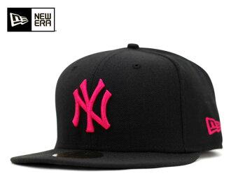 新時代帽紐約洋基隊的黑色帽子紐埃爾 59FIFTY [大小男裝大帽新時代帽新時代帽子新時代紐約洋基隊新時代章新時代新時代新時代新時代的新時代,] [BK] #CP: B