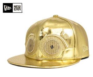 ニューエラ×スターウォーズ キャップ ビッグ フェイス C3-PO メタリックゴールド 帽子 NEWERA×STAR WARS 59FIFTY BIG FACE C-3PO METALLIC GOLD [ ニューエラ キャップ 帽子 NEW ERA CAP メンズ ] #CP:B