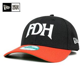 新伊拉斯塔斯保鮮紙背蓋子日本職業棒球福岡大榮豪克斯黑色帽子NEW ERA 9FORTY STRAPBACK CAP NPB FUKUOKA DAIEI HAWKS BLACK