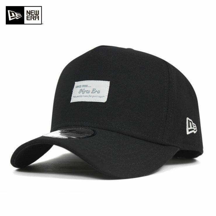 オンスポッツ別注 ニューエラ 9FORTY スナップバックキャップ Dフレーム フロント パッチ ブラック NEW ERA 帽子 メンズ レディース 送料無料