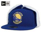ニューエラ キャップ 59FIFTY ドッグイヤー NBA ゴールデンステイト ウォリアーズ フルーリーフィット ブルー NEW ERA 帽子 メンズ レディース【返品・交換対象外】