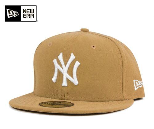 NEW ERA(ニューエラ) 59FIFTY キャップ MLB ニューヨークヤンキース ウィート m01-mctny 1130853...