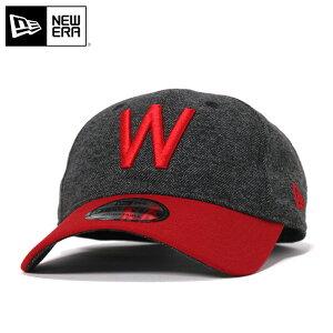 ニューエラ キャップ ストラップバック 9TWENTY クーパーズタウン ツイードターン 1926 MLB ワシントン セネタース グレー NEW ERA