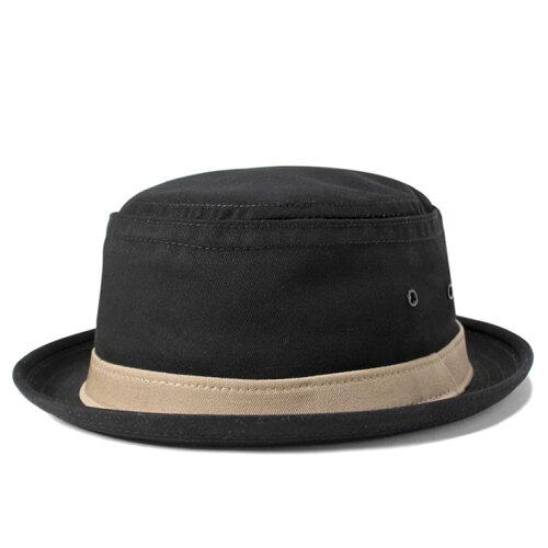 ニューヨークハット ポークパイハット コットン スティンジー ブラック NEW YORK HAT 帽子 メンズ ...