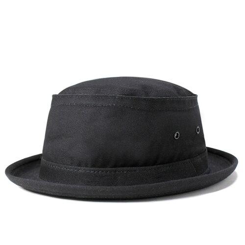 ニューヨークハット ポークパイハット キャンバス スティンジー ブラック NEW YORK HAT 帽子 メン...