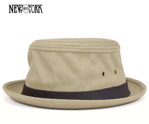 [ 送料無料 ] ニューヨークハット ポークパイ コットン スティンジー カーキ 帽子 NEW…