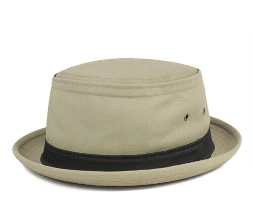 ニューヨークハット(NEW YORK HAT)ポークパイ コットン スティンジー | COTTON STINGY KHAKI | ...