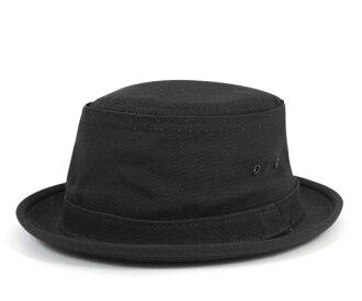 New York Hat canvas スティンジー black NEW YORK HAT CANVAS STINGY BLACK
