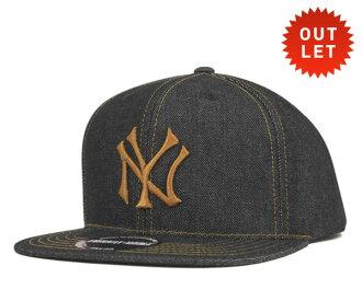 美國針業績回升帽牛仔晚上紐約洋基隊牛仔帽子美國針業績回升帽牛仔 NIIGHT 紐約洋基牛仔布 [男式帽子帽子業績回升帽],[NV] #CP: S