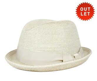卡瓦列羅 Fedora 帽子卡薩雷斯葉片稻草秸稈自然帽子 CABALLERO FEDORA 帽子卡薩雷斯編織稻草自然 [大小男裝大草帽稻草秸稈帽子草帽草帽草編帽子]、 [WH] #HA: S