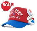 ★☆SALE☆セール♪[20%OFF] アーノルドパーマー バッジ メッシュキャップ レッド 帽子 ARNOLD ...