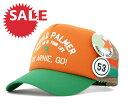 ★☆SALE☆セール♪[60%OFF] アーノルドパーマー バッジ メッシュキャップ オレンジ 帽子 ARNOL...