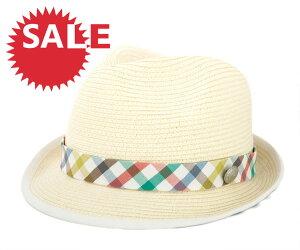★☆SALE☆セール♪[60%OFF] アーノルドパーマー ハット ペイパーブレイド ホワイト 帽子 ARNOL...