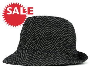 ★☆SALE☆セール♪[30%OFF] カンゴール へリングボーン ハット ブラック (帽子) KANGOL DAZZL...