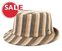 ★☆SALE☆セール♪[50%OFF] カンゴール ハバナ トリルビー ハット ストライプ チェック (帽子...