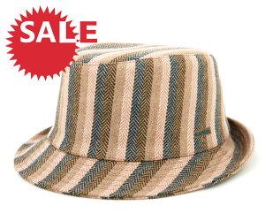★☆SALE☆セール♪[80%OFF] カンゴール ハバナ トリルビー ハット ストライプ チェック (帽子...