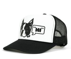 ★トラックブランド メッシュキャップ ホワイト TRUCK BRAND HI WHITE/BLACK [ 帽子 OTTO TRUCK...