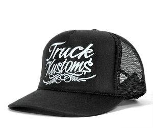 ★トラックブランド メッシュキャップ フロー ブラック TRUCK BRAND FLOW BLACK [ 帽子 OTTO TR...