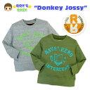 【送料無料】【男児ベビー】【トレーナー】Donkey Jossy 英字クラックプリント リバーシブルトレーナー...